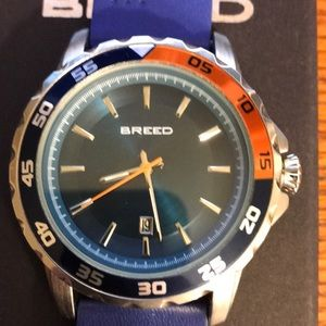 Breed Revolution Leather  Band w/Date